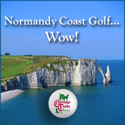 Begin on the Normandy Coast then Finish in Paris playing Le Golf National