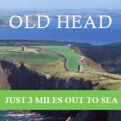 Old Head Just 3 miles out to sea