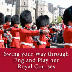 Swing your Way through England Play her Royal Courses