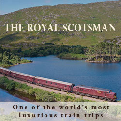 The Royal Scotsman - One of the world's most luxurious train trips