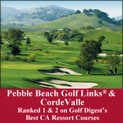 Pebble Beach Golf Links® and Corde Valle